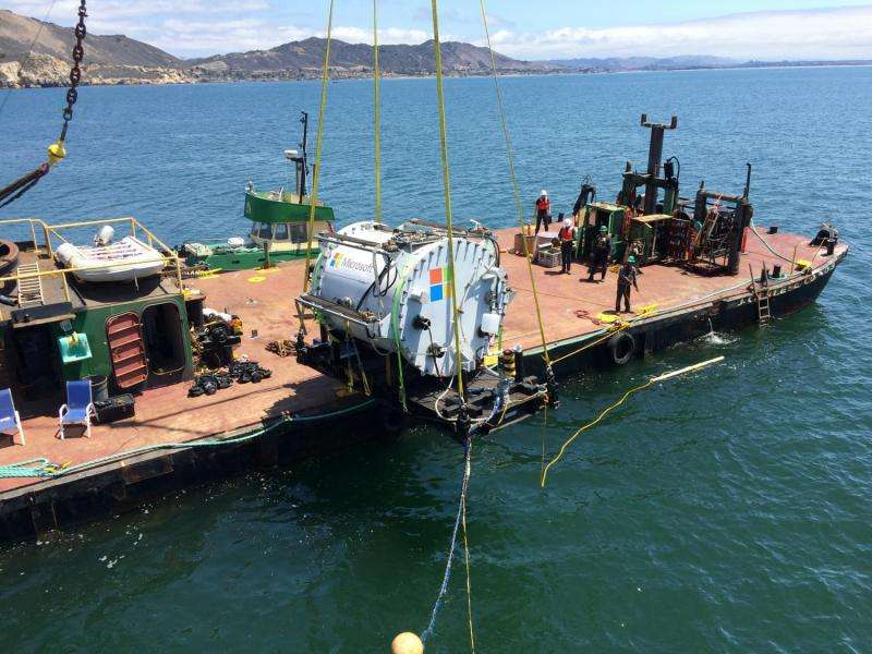 Microsoft research project puts cloud in ocean for the first time