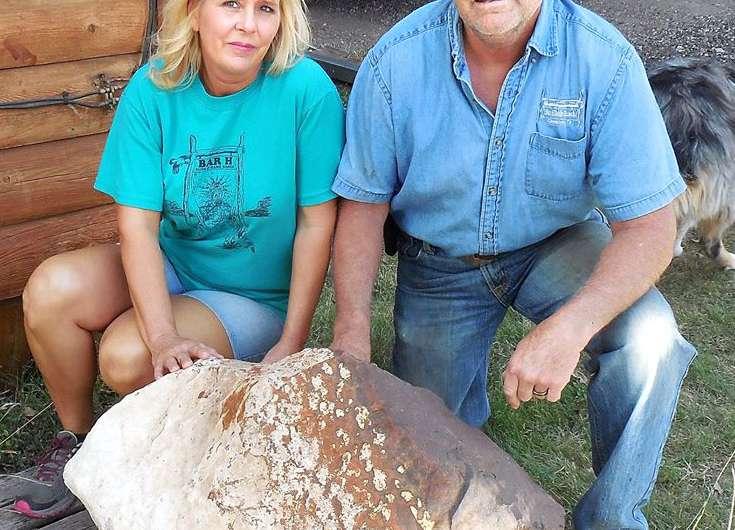 Monster meteorite found in Texas