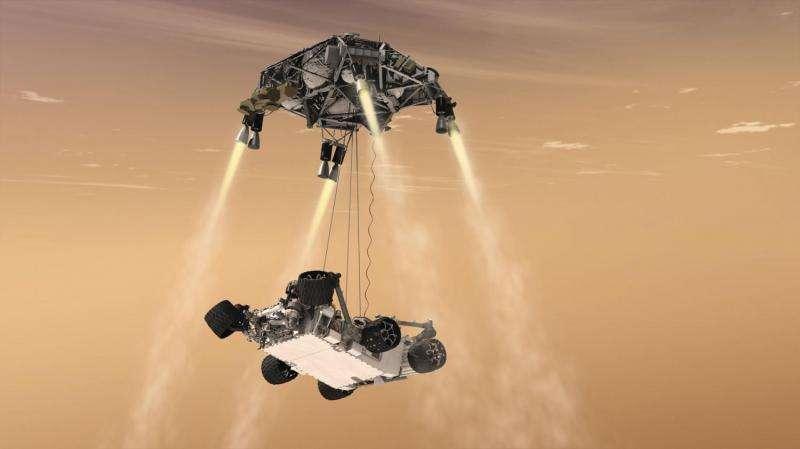 NASA flight program tests Mars lander vision system