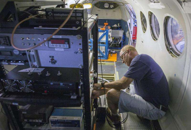 NASA flights to track greenhouse gases across Eastern U.S.