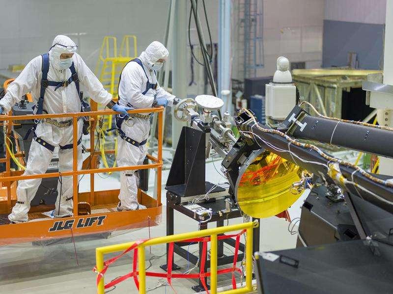 NASA's James Webb Space Telescope secondary mirror installed