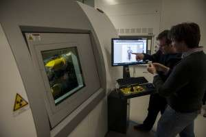 New micro-CT scanner allows inside view of even the tiniest fossils