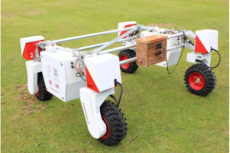 New mobile robot to support agri-tech experiments in the field
