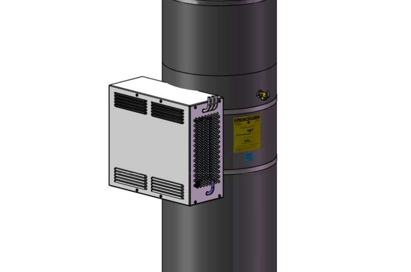 New residential water heater concept promises high efficiency, lower cost