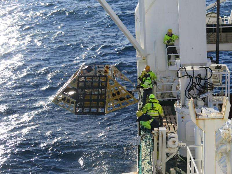 Observatories, long-term greenhouse gas data retrieved from the Arctic Ocean