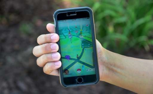 Pokemon Go uses smartphone satellite location, graphics and camera capabilities to overlay cartoon monsters on real-world settin
