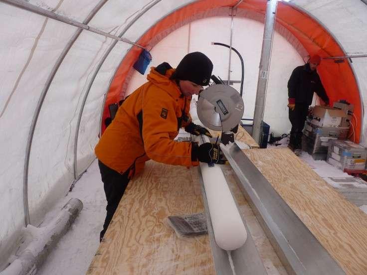 Polar ice reveals secrets of carbon-climate feedbacks