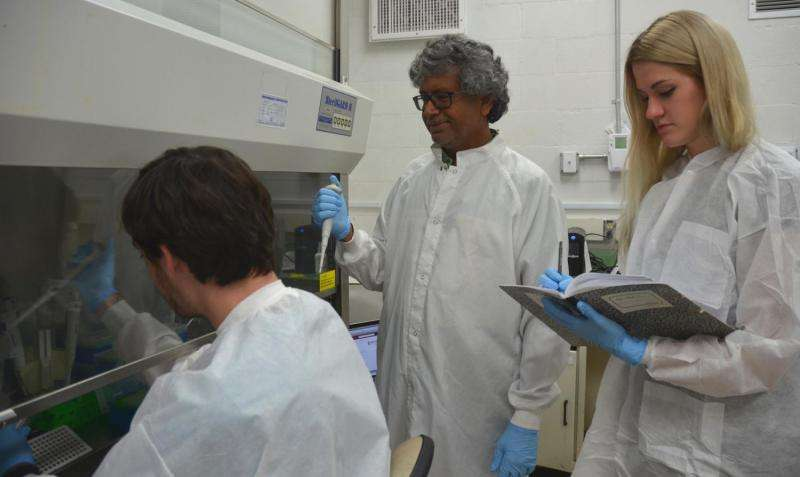 Researcher explores microbes in space