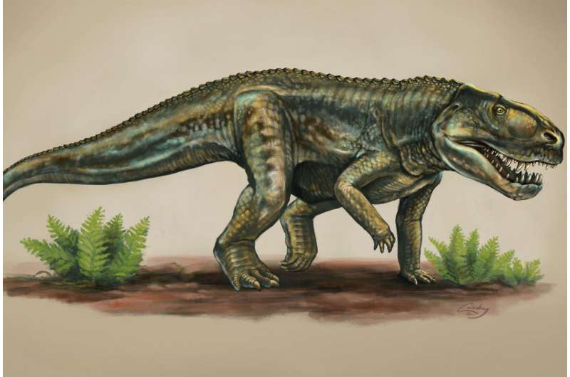 Researchers name a new species of reptile from 212 million years ago
