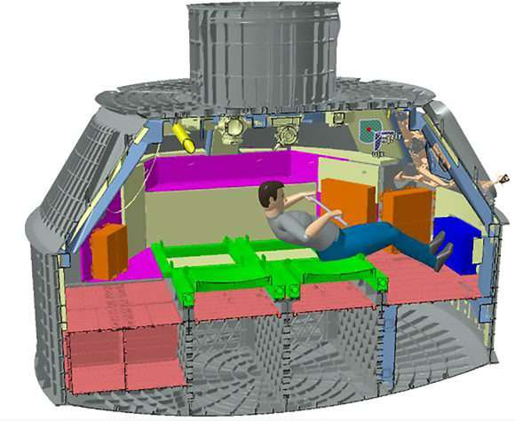 Rocky exercise device will help keep deep space a fit place