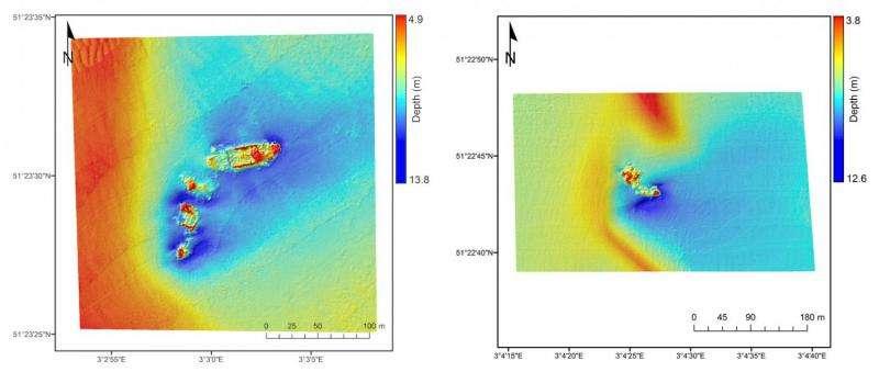 Satellites and shipwrecks: Landsat satellite spots foundered ships in coastal waters