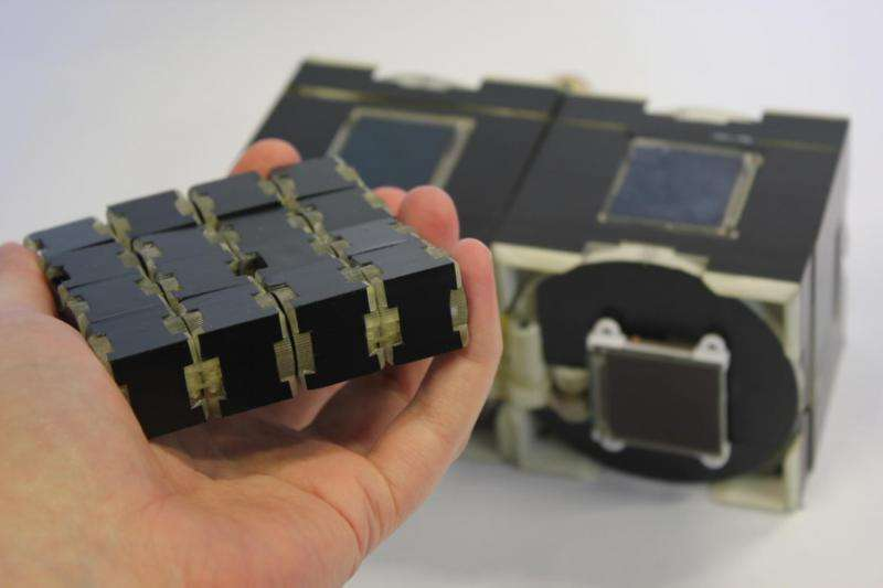 Shape-shifting modular interactive device unveiled