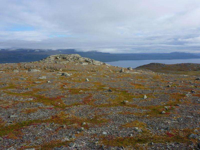 Soil frost affects greenhouse gas emissions in the Arctic