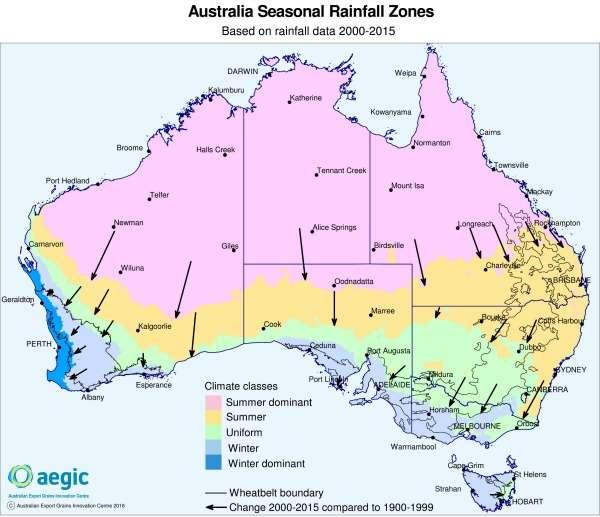 Southwest Australia loses its Mediterranean climate