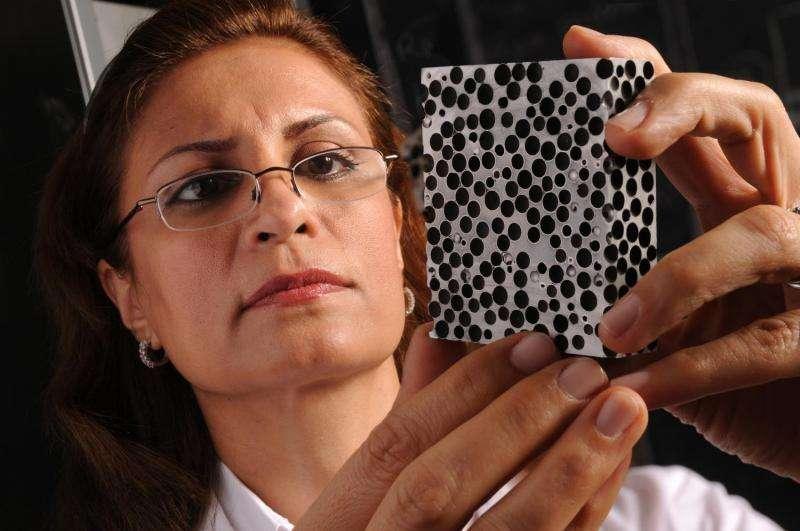 Study finds metal foam handles heat better than steel