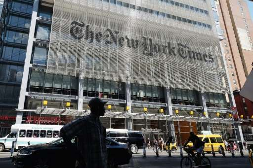 The New York Times in New York City