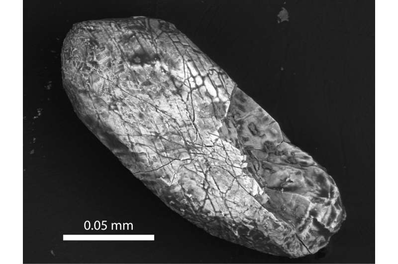 Trinity scientists reveal origin of Earth's oldest crystals