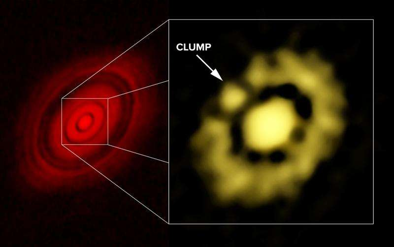 VLA shows earliest stages of planet formation