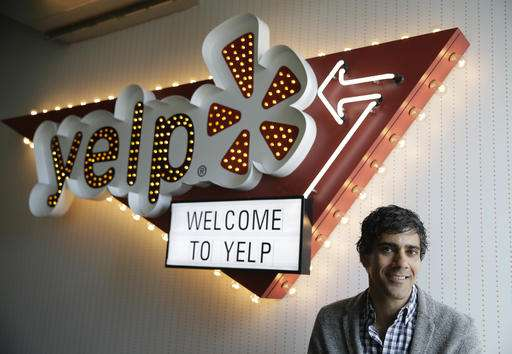 Yelp warns California lawsuit could scrub critical reviews