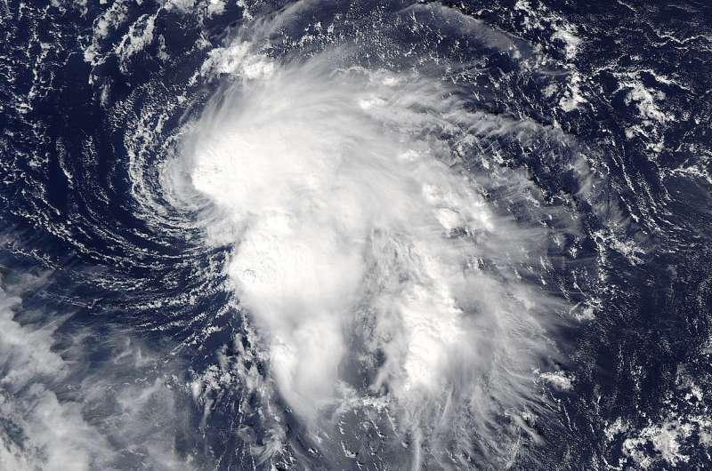 NASA satellite sees stubborn Atlantic Tropical Storm Nicole