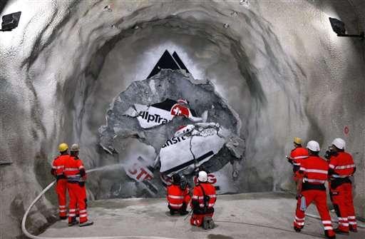 Swiss inaugurate $12 billion rail tunnel, world's longest
