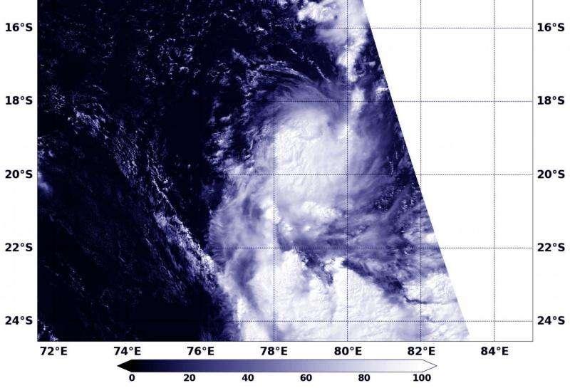 NASA sees Tropical Cyclone 17S form