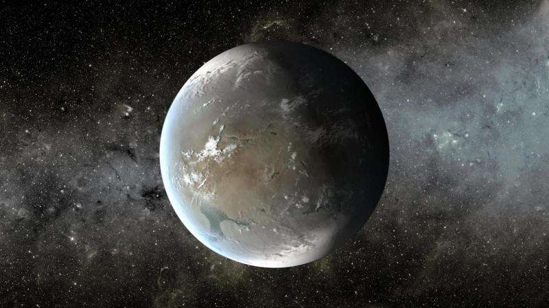 Discovery of a nearby super-Earth with only 5 times our mass