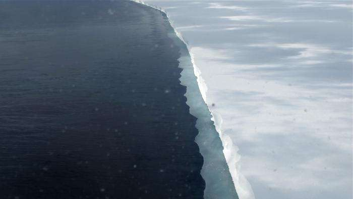 Antarctica has a new explorer testing the water along a critical ice shelf