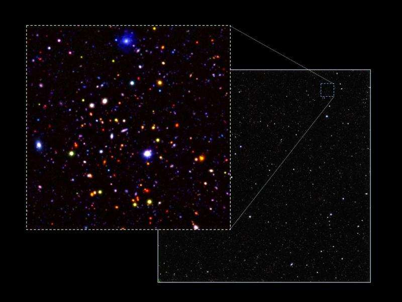 Astronomers release spectacular survey of the distant Universe