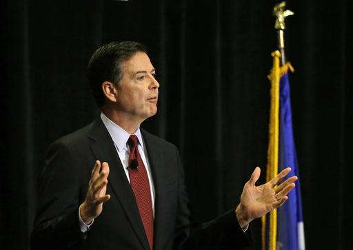 FBI chief calls for national talk over encryption vs. safety