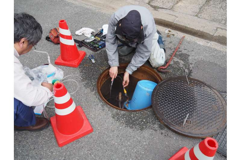 Groundwater helium level could signal potential risk of earthquake