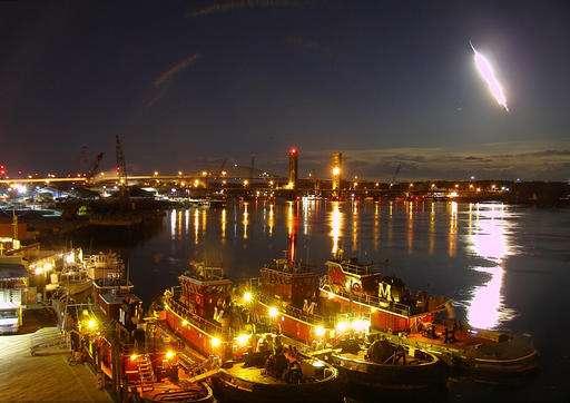 Meteor captured on dashcam video lights up New England sky