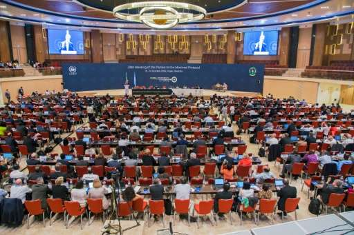 Representatives from almost 200 countries gather for the 28th Meeting of the Parties to the Montreal Protocol, in Kigali, on Oct