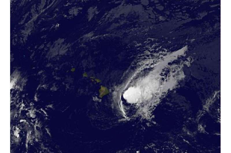 Satellites show Hurricane Madeline weakening upon approach to Hawaii