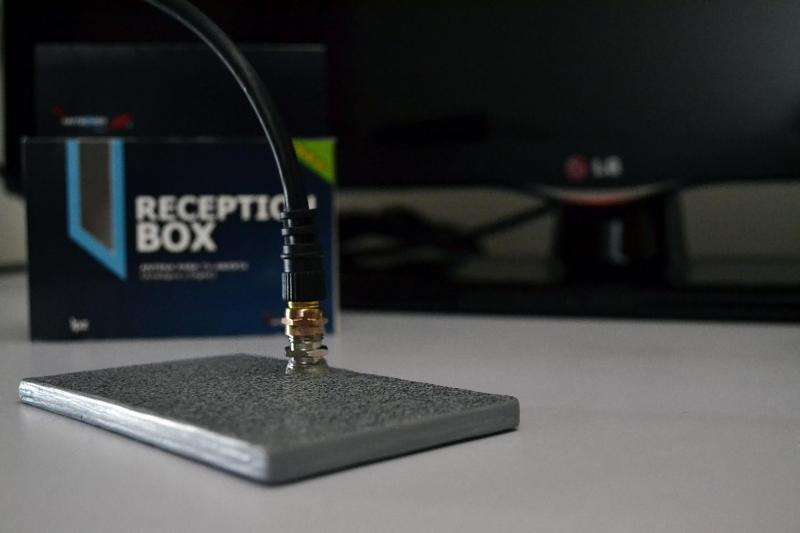 The smallest television antenna in the world has extraordinary reception