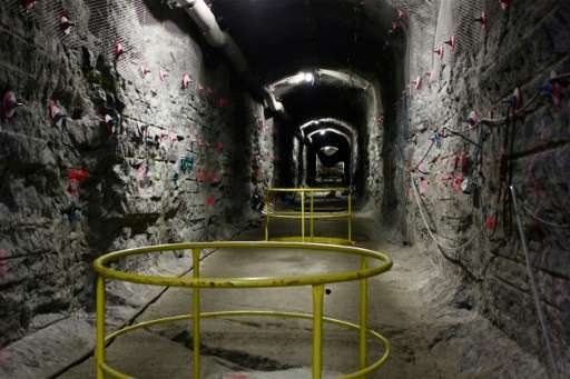 The world's first underground repository for highly radioactive nuclear waste, at the Olkiluoto nuclear power plant on the islan