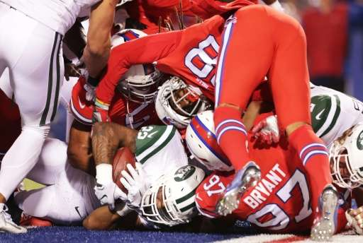 Twitter's live video streaming of The New York Jets facing The Buffalo Bills reached 2.1 million viewers