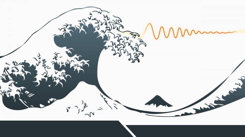 Understanding tsunamis with EM fields
