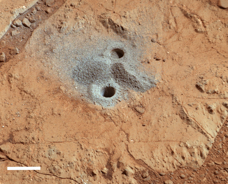 Veins on Mars were formed by evaporating ancient lakes
