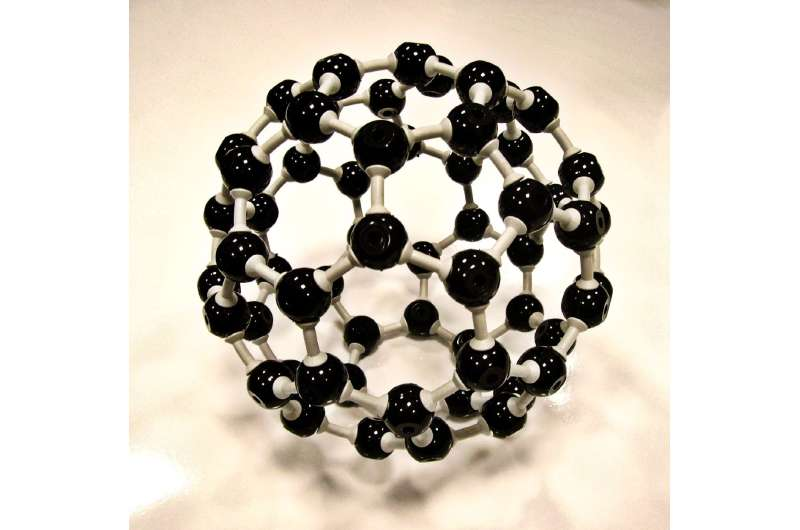 Researchers create artificial protein to control assembly of buckyballs