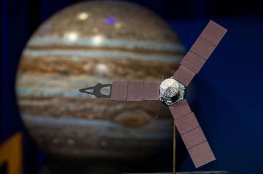 NASA's Juno spacecraft has successfully entered orbit around Jupiter, where it will stay for 20 months to collect data on the pl