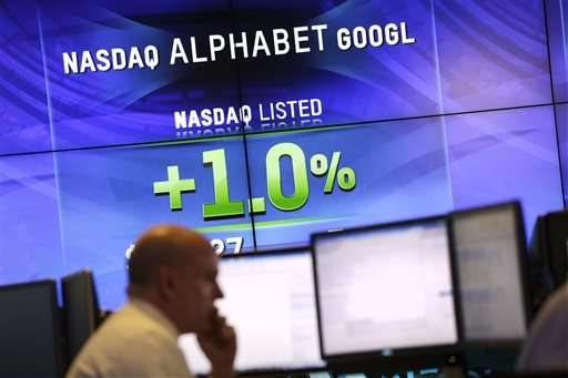 Google parent tops Apple as world's most valuable company (Update)