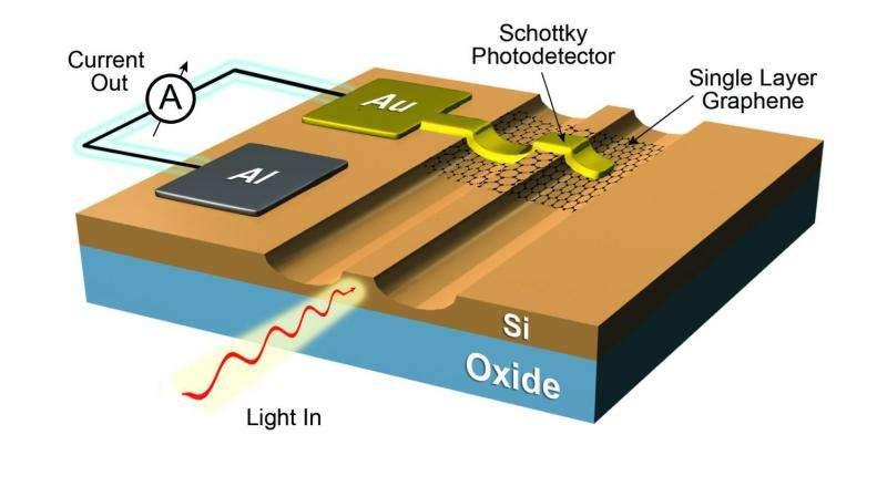 Graphene based optoelectronics