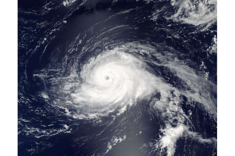 NASA eyes powerful Hurricane Gaston almost 600 miles from Bermuda