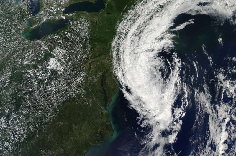 NASA sees post-Tropical Storm Hermine south of Long Island, last advisory issued