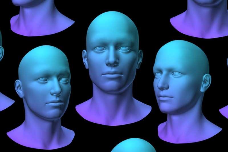 New algorithm could explain human face recognition
