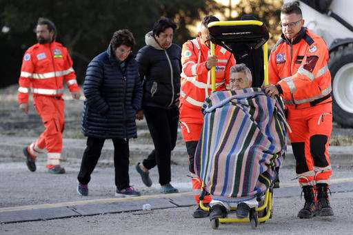 Strong aftershocks rattle devastated Italian earthquake zone