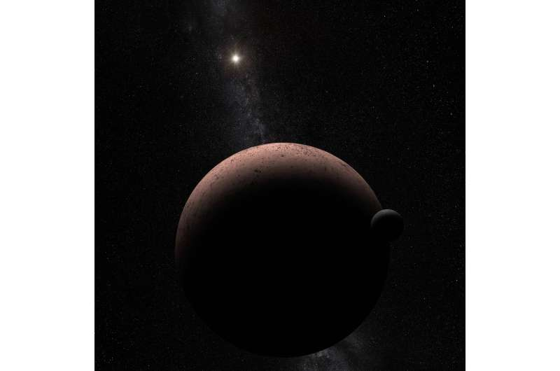 Team discovers moon over Makemake in the Kuiper Belt
