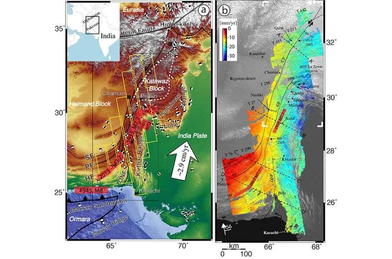 Study reveals new earthquake hazard in Afghanistan-Pakistan border region