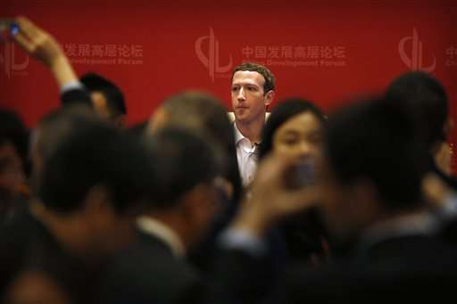 Facebook's Zuckerberg meets China's propaganda chief